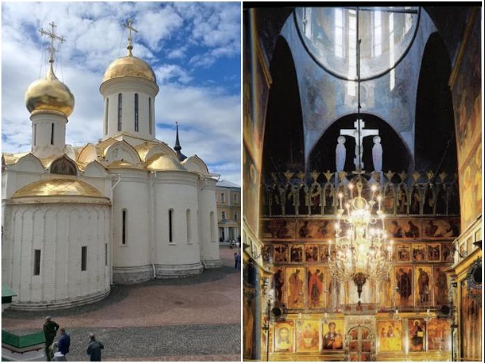 Троицкий собор в Троице-Сергиевой лавре построен с поправкой на оптические иллюзии.