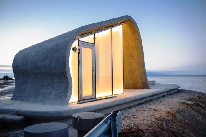 На туристической карте Норвегии появилась новая достопримечательность – это ...общественный туалет с панорамным видом из окна (Зона отдыха Ureddplassen). | Фото: abcnews.com.ua.