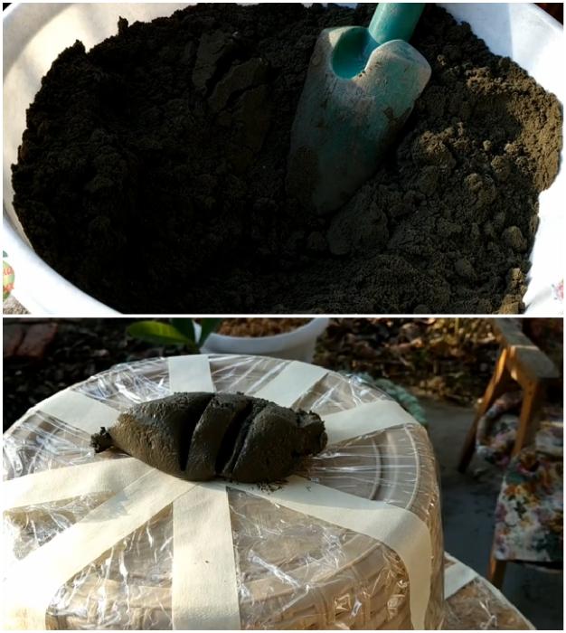 От того, насколько качественный материал и соблюдена ли пропорция, зависит срок службы вазона.