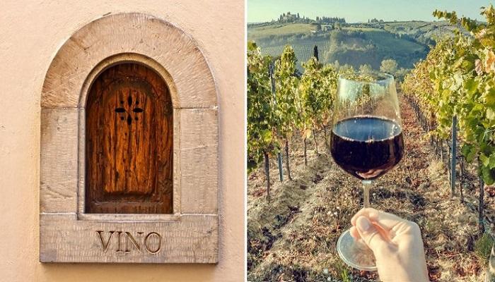 В Италии возобновили давнюю традицию подачи напитков через «buchette del vino». | Фото: interestingengineering.com.