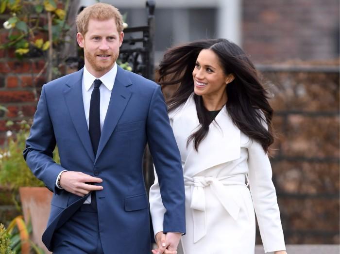 Принц Гарри и герцогиня Сассекская Меган Маркл. | Фото: elle.ua.