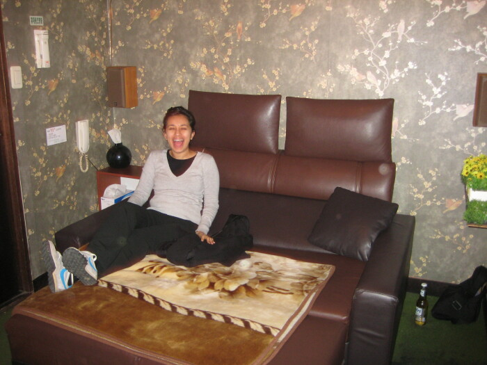 DVD-комната в Корее, гостье РАДОСТНО! / Фото: wordpress.com