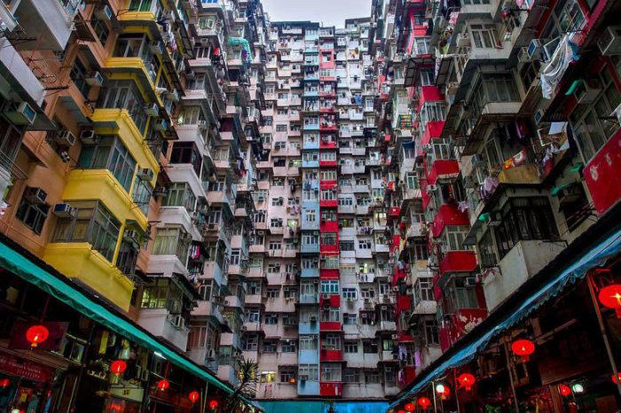 Здесь живут 10 000 небогатых китайцев. / Фото: reddit.com