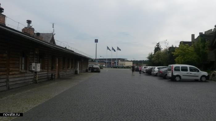 Транзит по территории Польши.