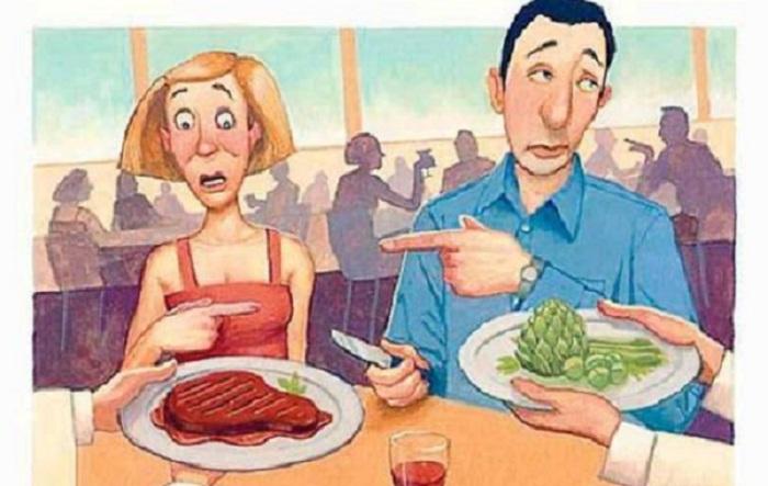 Серьезная тема для разногласий! / Фото: theflamingvegan.com