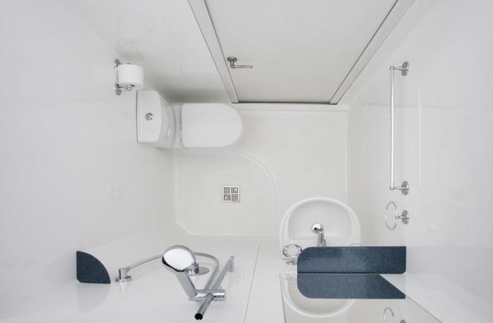 Ванна в скандинавском стиле. / Фото: inmyroom.ru