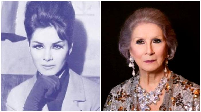 Трансгендерная женщина Эйприл Эшли в 1960-е и сегодня.