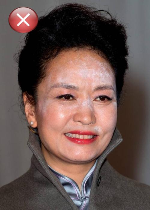 Конфуз первой леди Китая.