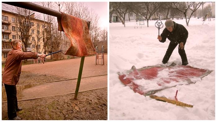 Советский ритуал вызывания чистоты.
