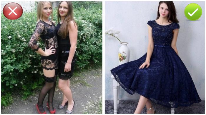 Фото школьницы слева в свое время наделали много шума в сети.