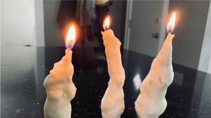 Вечные свечи. / Фото: reddit.com