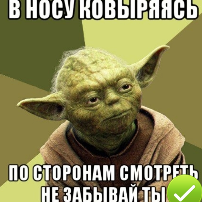 Что говорит, знает точно мастер! / Фото: risovach.ru