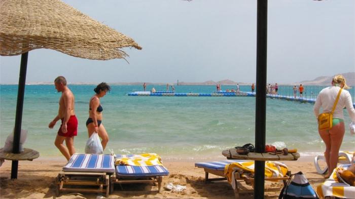 Все курорты Египта в декабре выглядят так. / Фото: ezdili-znaem.com