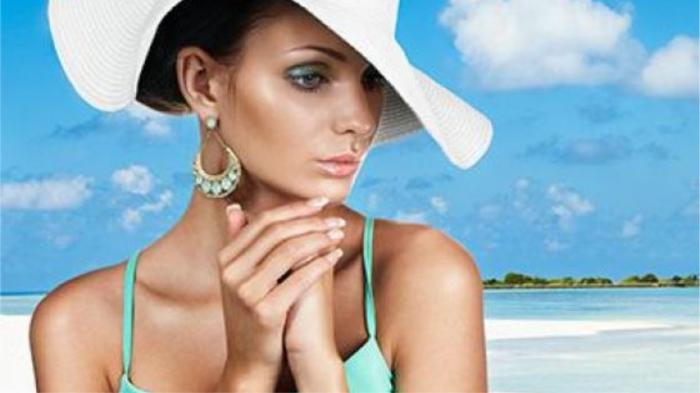 На пляж красятся только русские женщины. / Фото: jv.ru