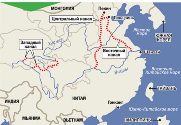 Как никакая другая страна, Китай простирается не с запада на восток, а с севера на юг. / Фото: yandex.ru