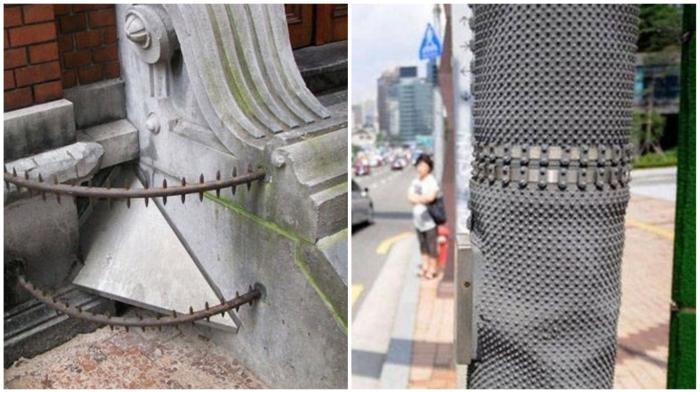 Уличные приспособления, которые не оставят вандалам ни шанса творить беспорядки