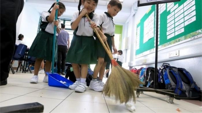 Система наказаний принработами в школах Северной Кореи. / Фото: amic.ru