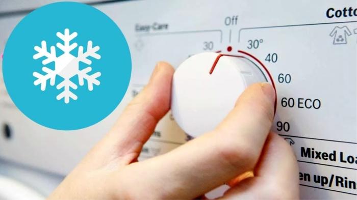 Стирка только в холодной воде - неэффективна (бонус: и вредит стиральной машине)! / Фото: youtube.com
