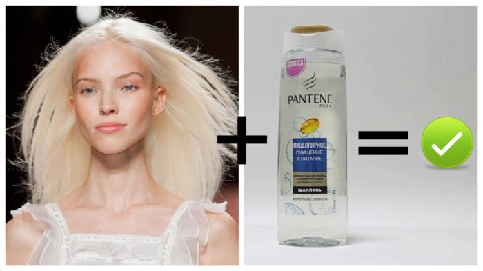 Блондинки предпочитают прозрачное.