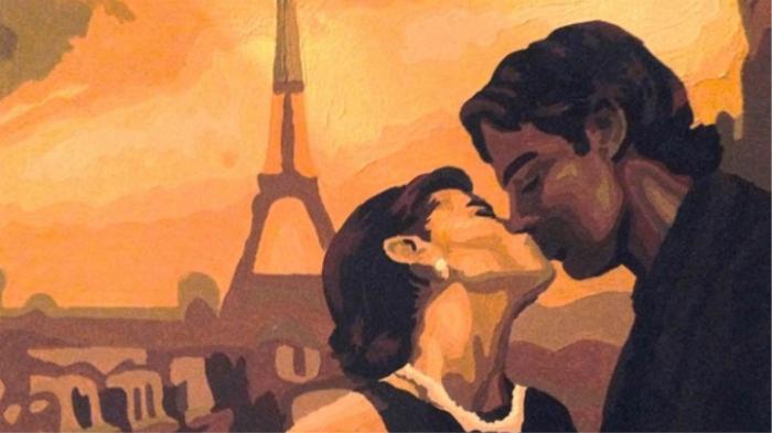 Французский поцелуй. / Фото: slon.fr