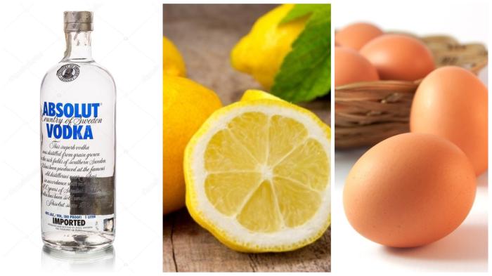Ингредиенты для чудодейственного тоника для лица домашнего приготовления.