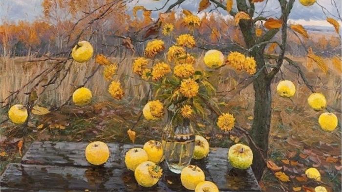 Осенние яблоки. / Фото: stihi.ru
