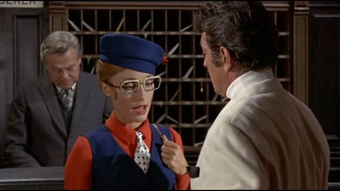 Кадр из фильма с Шерон Тейт, показываемый в том числе в 9-ом фильме Тарантино. / Фото: youtube.com