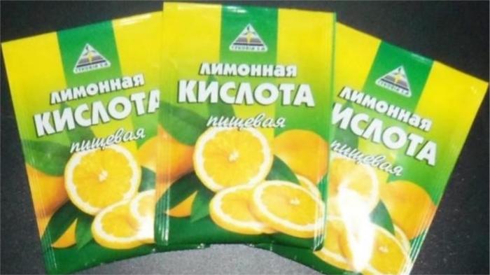 Старая добрая лимонная кислота. / Фото: zema.su