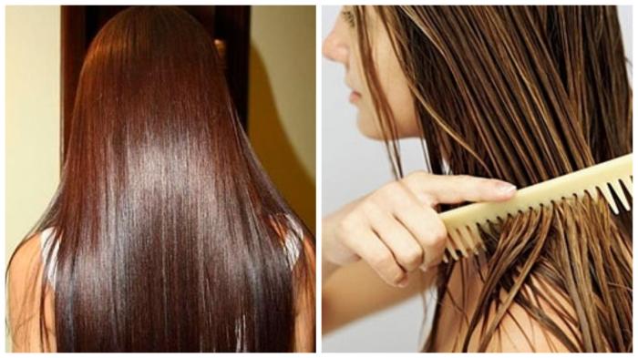Несмываемое масло для волос не требует траты времени, как это случается с бальзамами и масками.