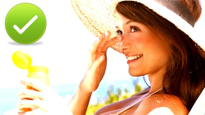 Нельзя игнорировать солнцезащитный крем!