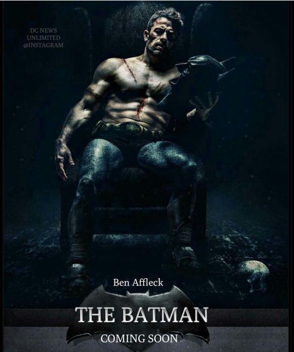 Постер одного из последних фильмов о Бэтмене. / Фото: pinterest.com