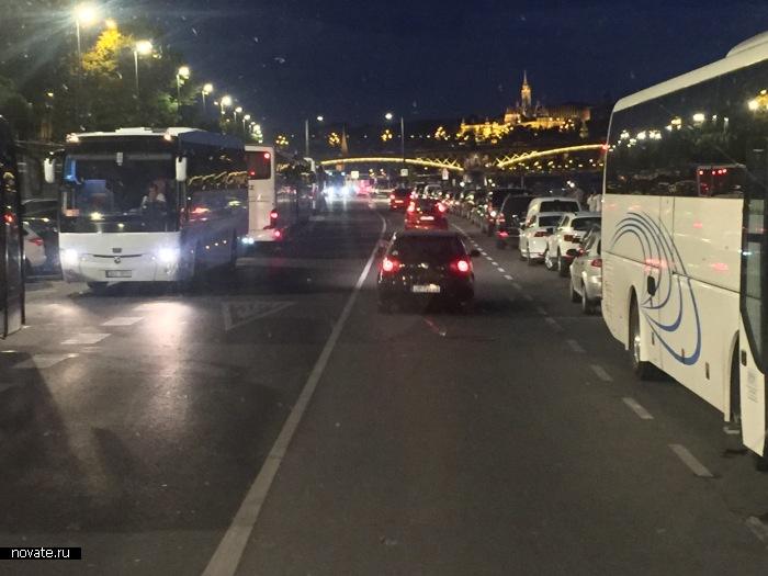 Вечерний Будапешт.