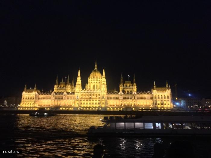 Незабываемая экскурсия по вечернему Будапешту.