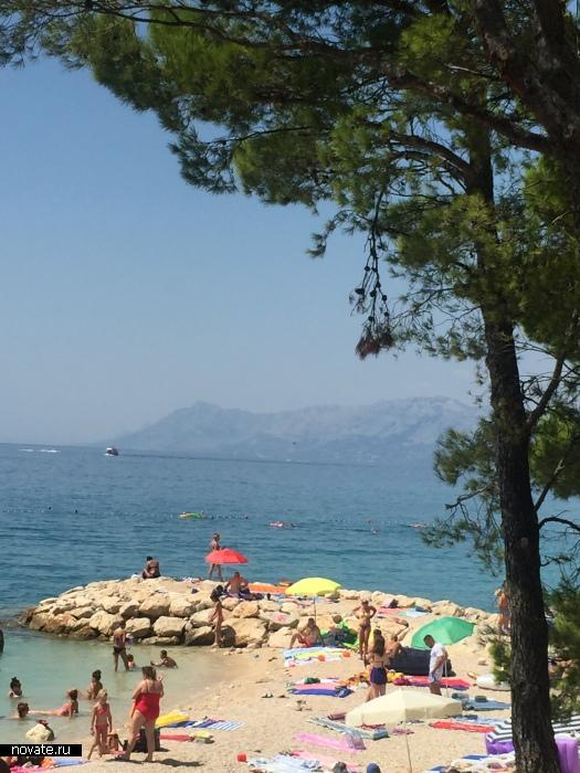 Пляжи Хорватии.