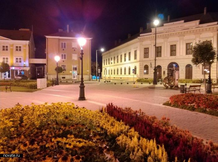Красота Старой Европы в транзитном городке Надьканижа, Венгрия.