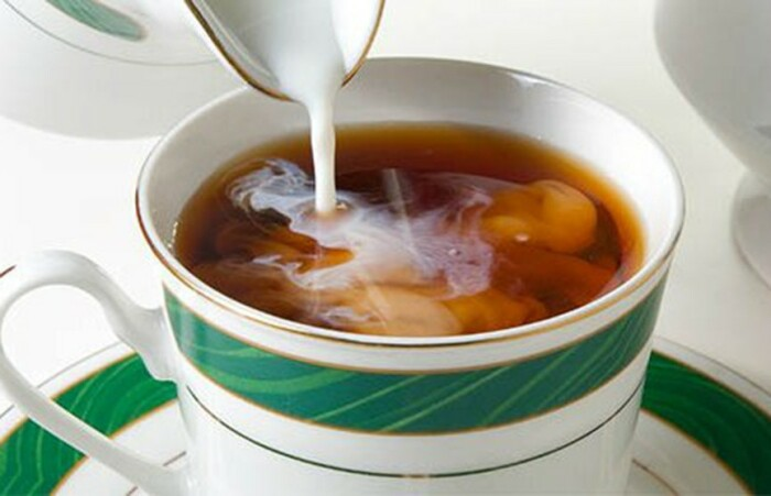 Чай с молоком. / Фото: ont.by