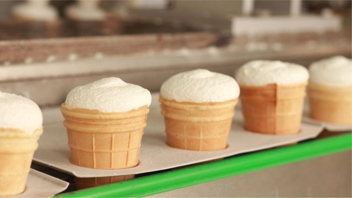 Для лакомства на пляже ищите мороженое с максимальным содержанием жиров. / Фото: gastronom.ru
