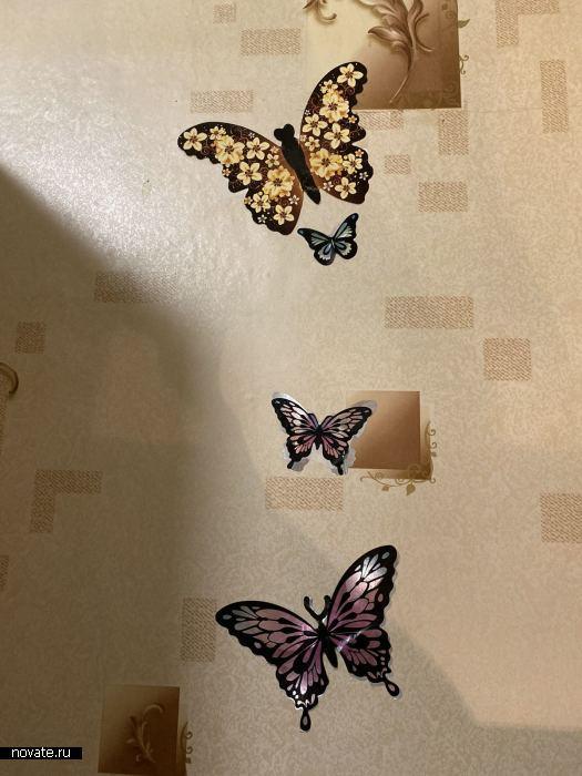Спасительные бабочки.