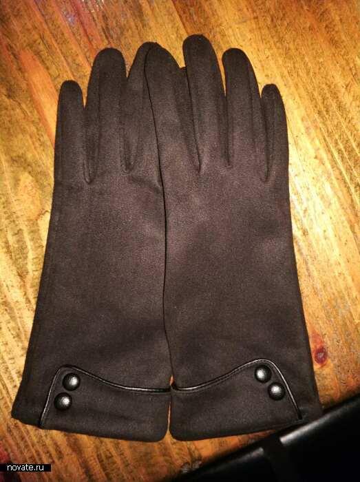 Текстиль на флисе - идеальный выбор перчаток для зимы.