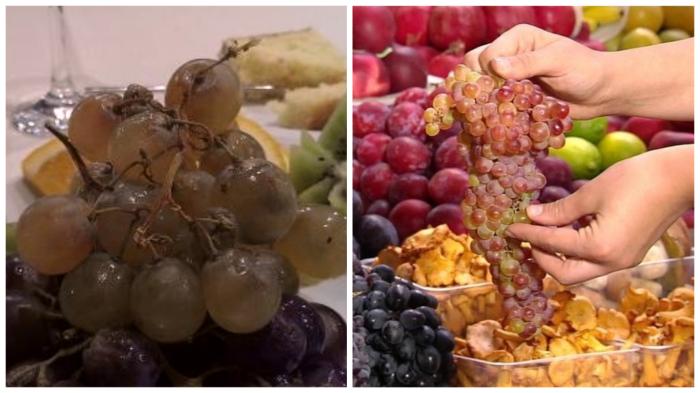 Гнилой виноград очень опасен!