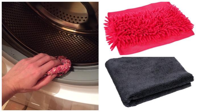 Влагу с резинового ободка стиральной машины нужно удалять не «от большего», а на 100 процентов.