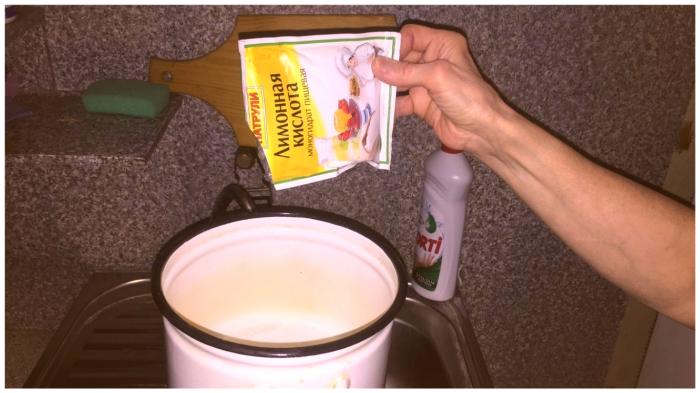 Лимонная кислота – самый универсальный очиститель.