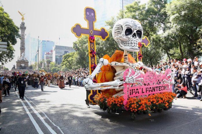 Мексиканский День Мёртвых - главный праздник в году.