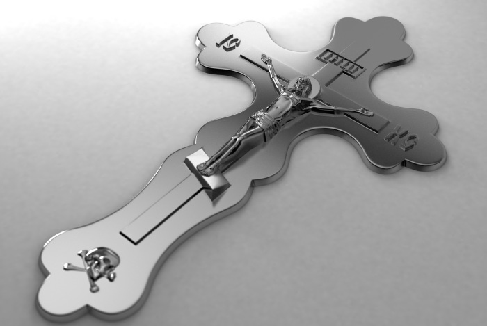 Череп Адама был захоронен под крестом, на котором распяли Иисуса.