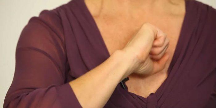 Простукиваем грудную клетку. / Фото: zdorove.noviydoctor.com