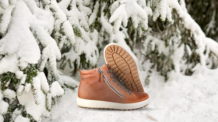 Обувь с мембранным слоем гортекс - идеально для морозов.