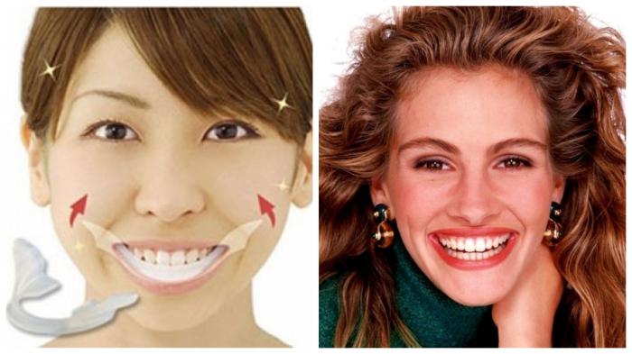 Растянуться в трендовой улыбке поможет распорка для рта.