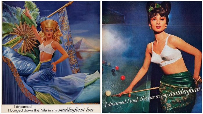 «Мне снилось, что я в моём Maidenform»... Царица Нила… Или бильярдистка…