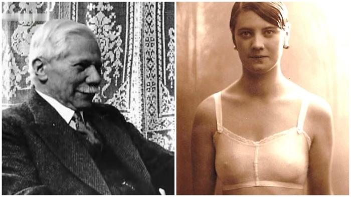 Пав жертвой бесконечных застёжек, Зигмунд Линдауэр подарил женщинам удобный бюстгальтер (1912 год).