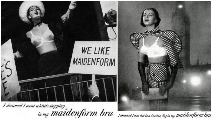«Мне снилось, что я в моём Maidenform»... Великий политик… Или романтичная беглянка…
